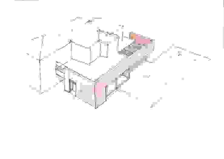 Ampliamento Villa e nuova Piscina di Studio di Architettura Fiorentini Associati Moderno