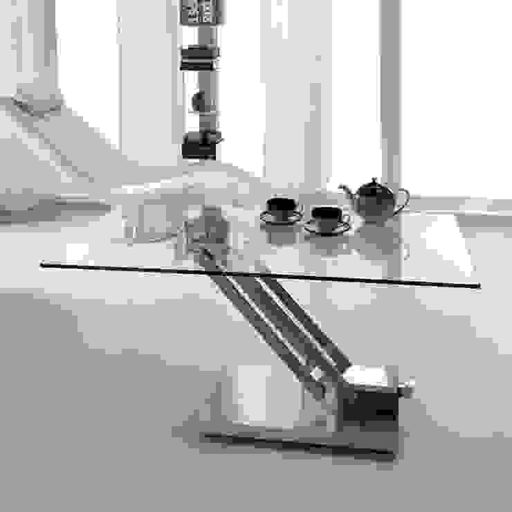 Contempo square glass coffee table by Stones de My Italian Living Moderno
