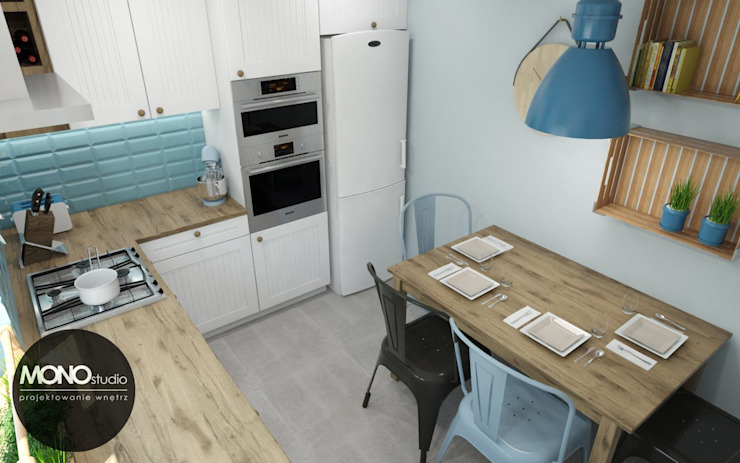 Dapur Gaya Skandinavia Oleh MONOstudio Skandinavia