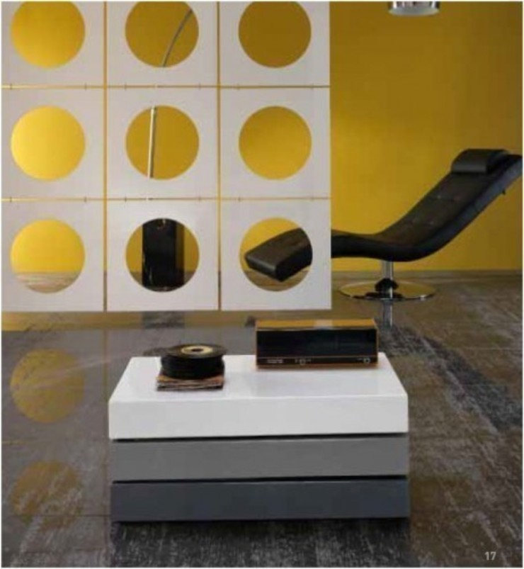 'Transform II' storage coffee table by Stones de My Italian Living Moderno