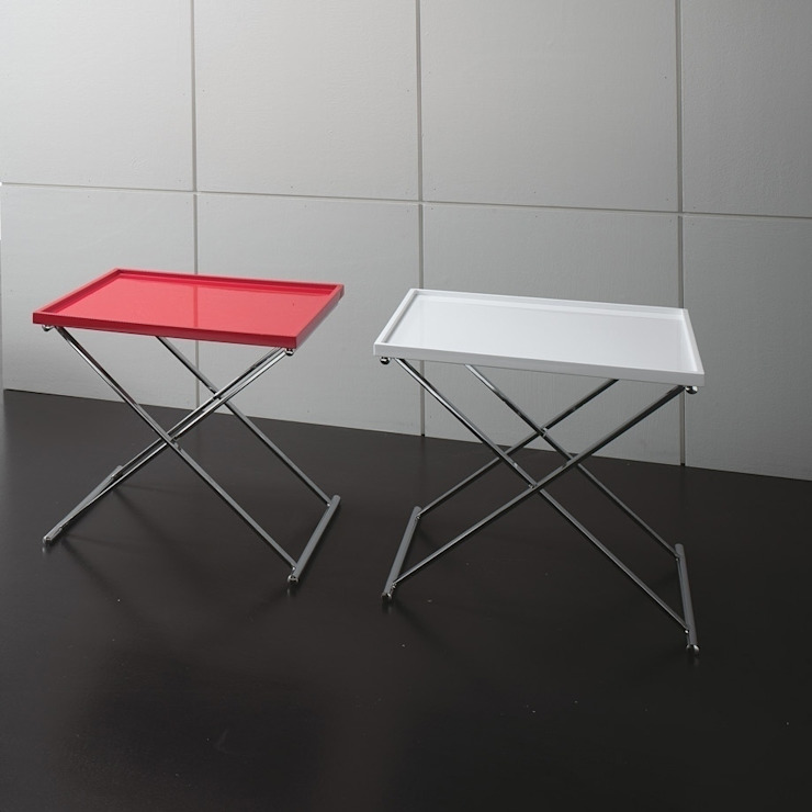 'Twist' folding coffee table with tray by Stones de My Italian Living Moderno