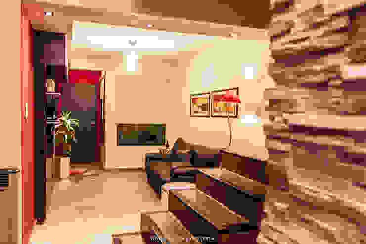 Estar integrado al resto de la casa Livings modernos: Ideas, imágenes y decoración de Estudio Alvarez Angiono Moderno