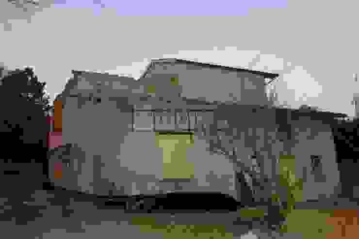 après démolition d'une partie du toit, par LCDS Rural