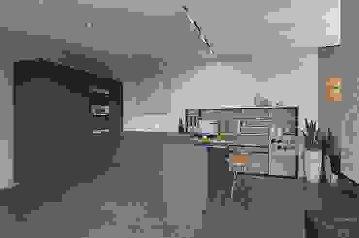 Wohnzimmer von Aleksandra  Kostyuchkova, Minimalistisch