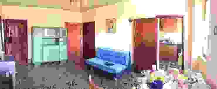 Sala-ingresso PRIMA dell'intervento Soggiorno in stile mediterraneo di Marianna Leinardi Mediterraneo