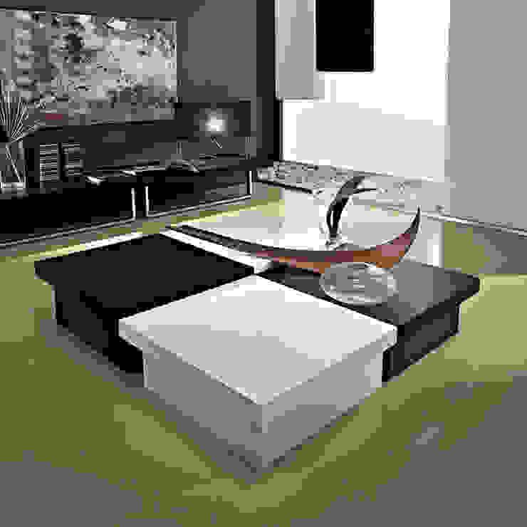 'Asia' square coffee table with storage by La Primavera de My Italian Living Moderno