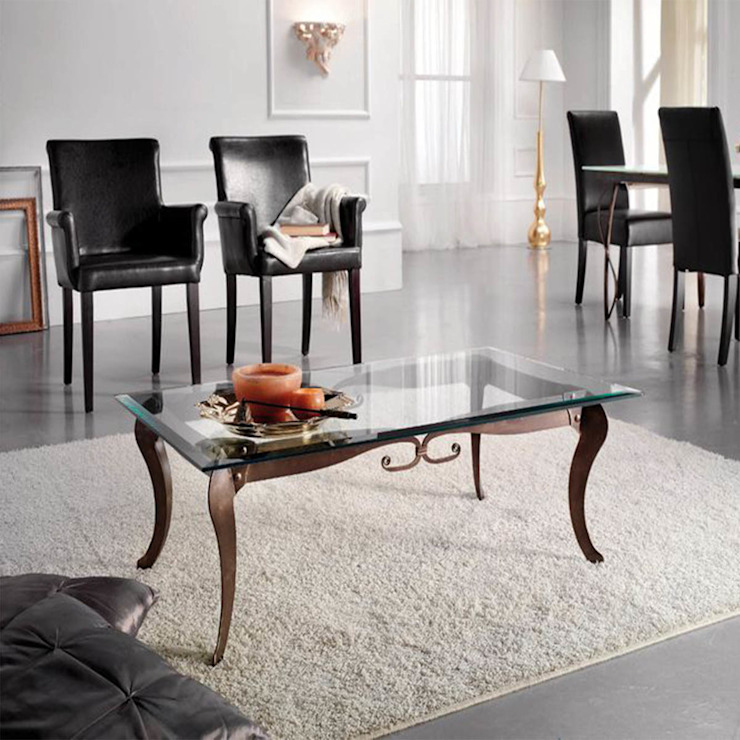'Deco' wrought iron coffee table by Target Point de My Italian Living Moderno