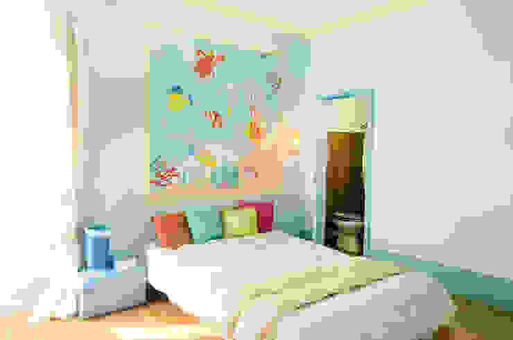 Phòng ngủ phong cách Địa Trung Hải bởi Marianna Leinardi Địa Trung Hải