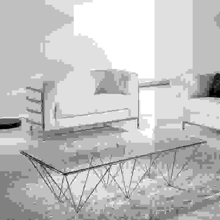 'Mix' transparent design coffee table by Tomasucci de My Italian Living Moderno