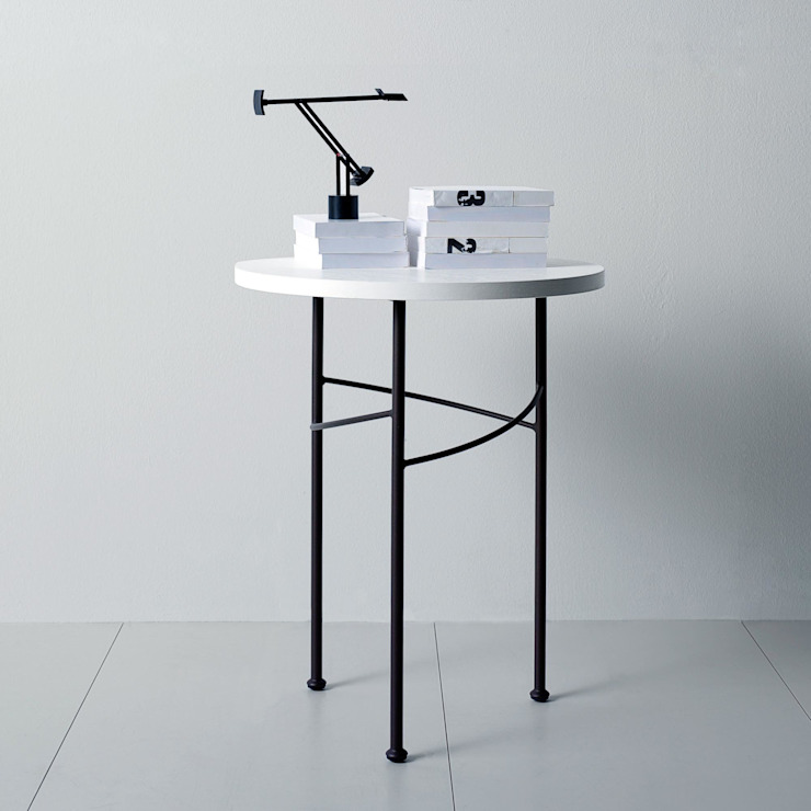'Trilly' iron slimline side table by Cosatto de My Italian Living Moderno