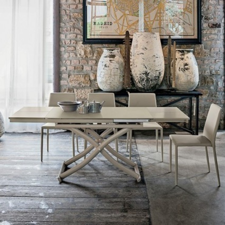 'Dione Plus' Transformable dining & coffee table by Target Point de My Italian Living Moderno