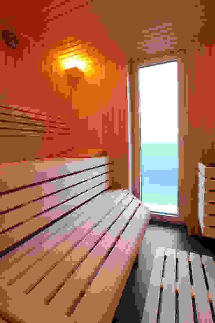 Sauna Minimalistischer Spa von Architektur Jansen Minimalistisch