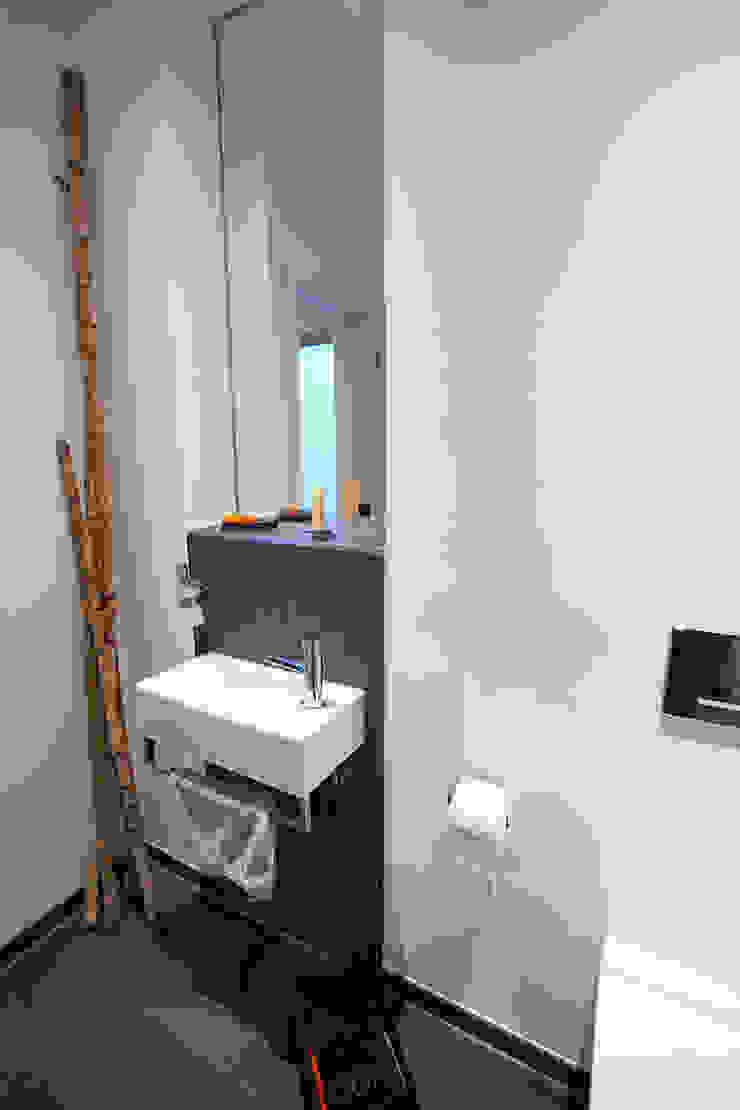 Gäste-WC Minimalistische Badezimmer von Architektur Jansen Minimalistisch