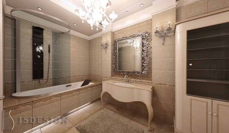 Ванная комната Ванная в классическом стиле от ISDesign group s.r.o. Классический