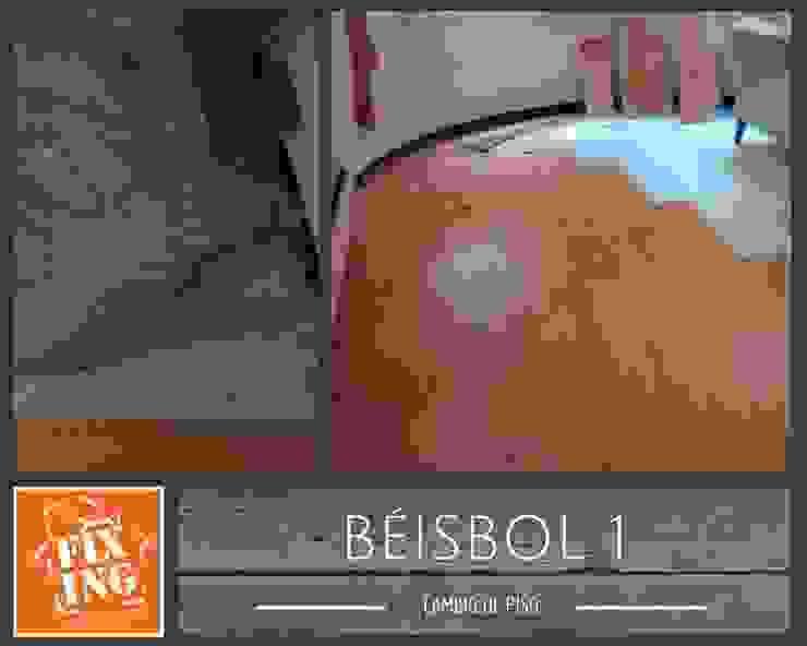 Piso Paredes y pisos de estilo clásico de Fixing Clásico