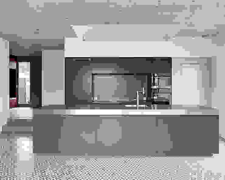 EFH ROHRMÄTTLIWEG Moderne Küchen von Schmid Schärer Architekten Modern