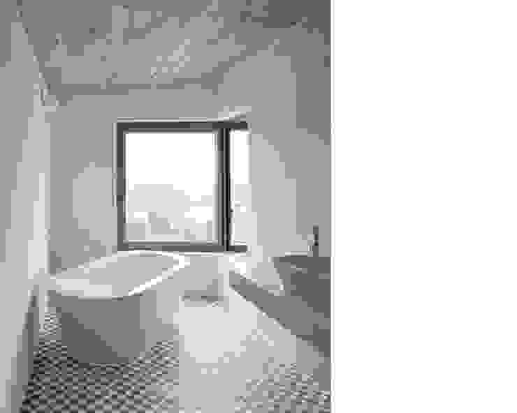 EFH ROHRMÄTTLIWEG Moderne Badezimmer von Schmid Schärer Architekten Modern