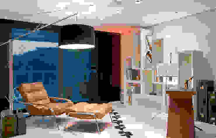 Casa Cond. Colinas de São Francisco Salas de estar modernas por JOSIANNE MADALOSSO ARQUITETURA E INTERIORES Moderno