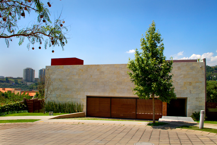 Casa 4 Puntos / Club de Golf BR Casas modernas de Maz Arquitectos Moderno