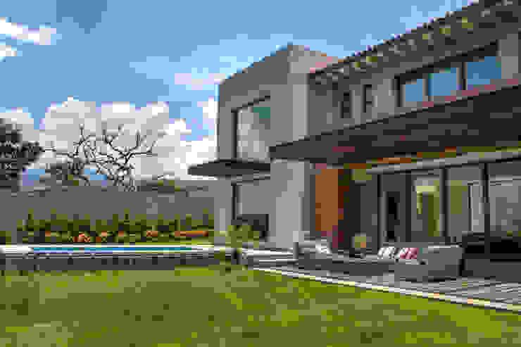 Jardines de estilo moderno de Maz Arquitectos Moderno