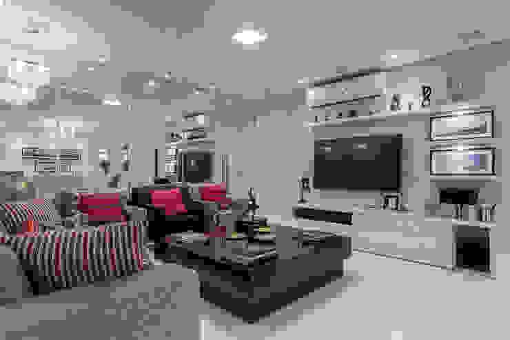 Sala de Estar e Home Salas de estar modernas por homify Moderno