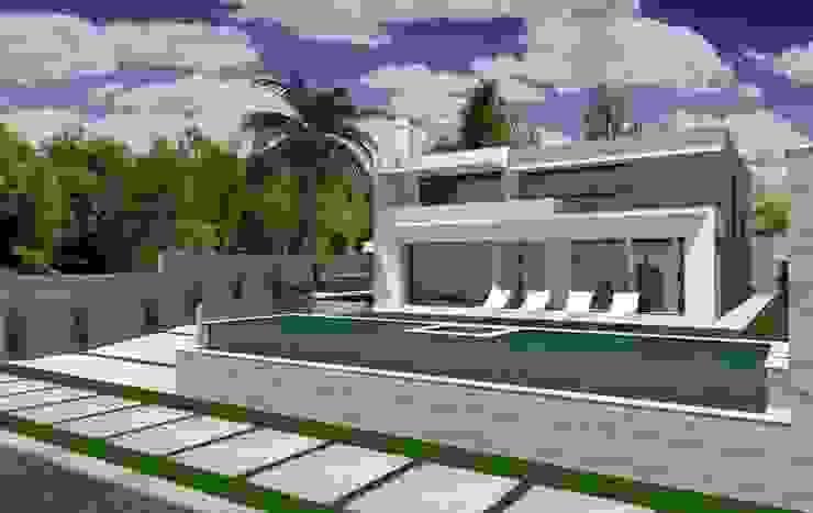 Residência em Cacupé – Florianópolis Casas modernas por Cláudia de Andrade Arquitetura Moderno
