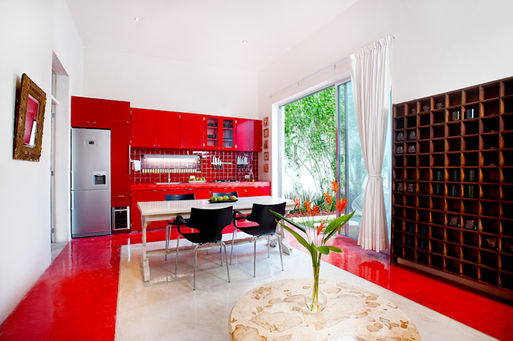 Столовые комнаты в . Автор – Taller Estilo Arquitectura,