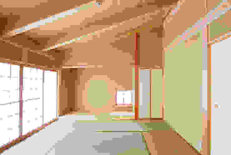 . 和風デザインの 多目的室 の 石丸真智子建築設計室 和風