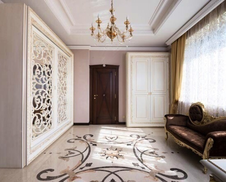The House in Wonderland udesign Коридор, прихожая и лестница в классическом стиле