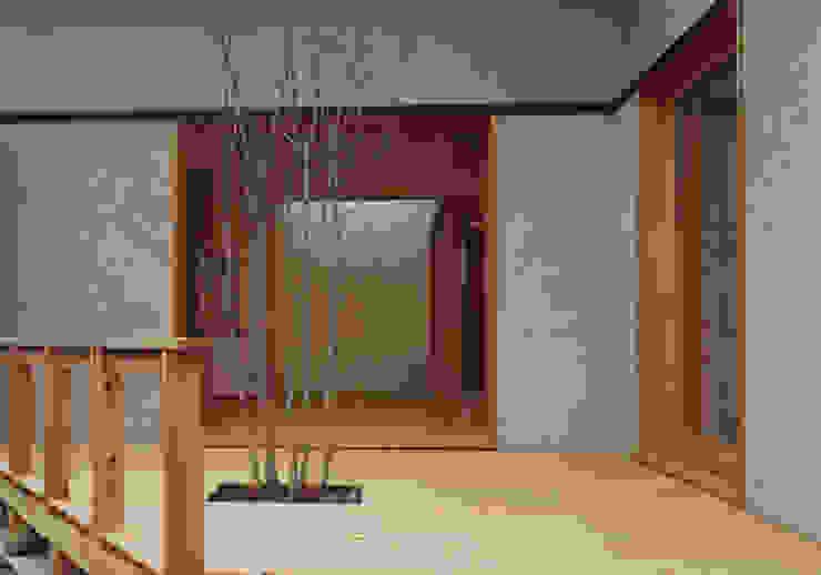 中庭 オリジナルな 庭 の 堀内総合計画事務所 オリジナル
