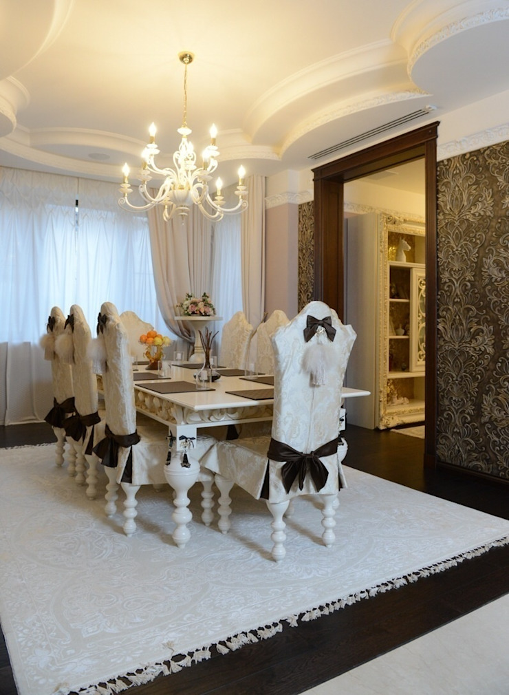 The House in Wonderland udesign Столовая комната в классическом стиле