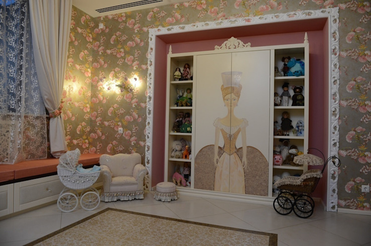 The House in Wonderland udesign Детская комнатa в классическом стиле