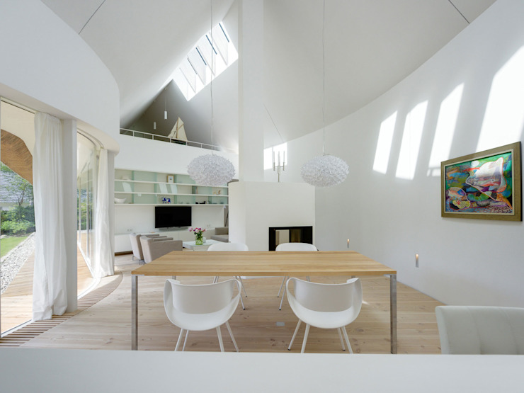 Dining room by Möhring Architekten, Modern