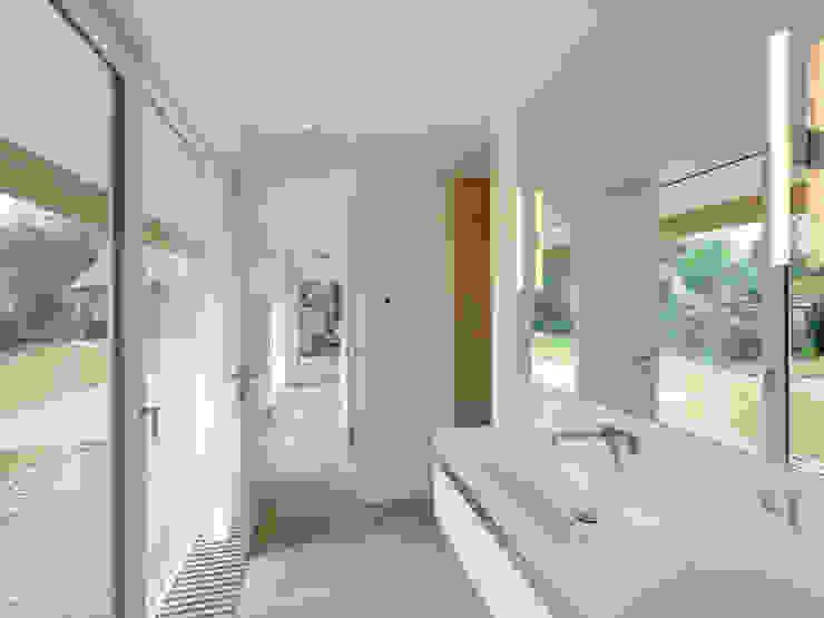Banheiros modernos por Möhring Architekten Moderno