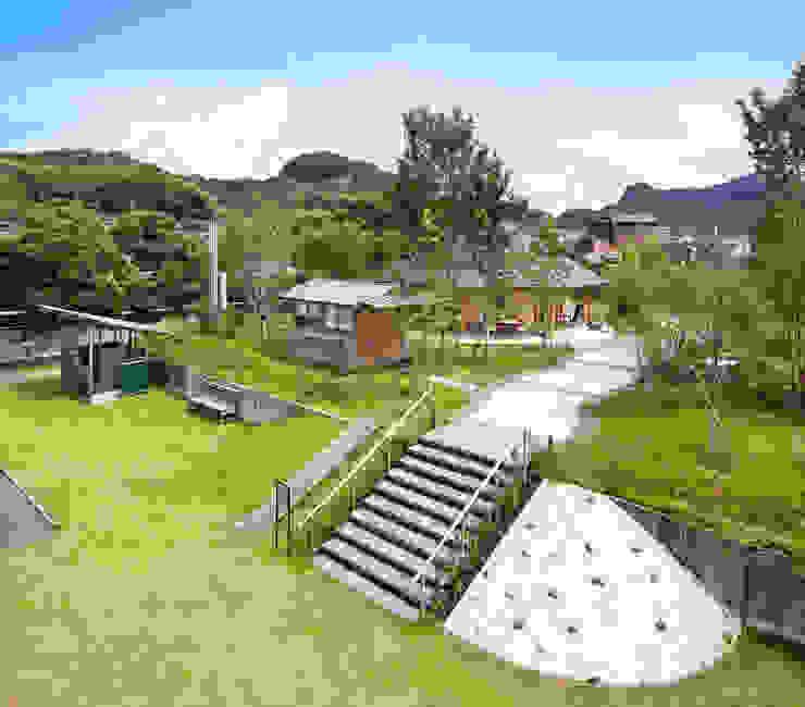 ひなた茶屋~雑木林の小さなカフェ~ オリジナルな 庭 の 志賀建築設計室 オリジナル