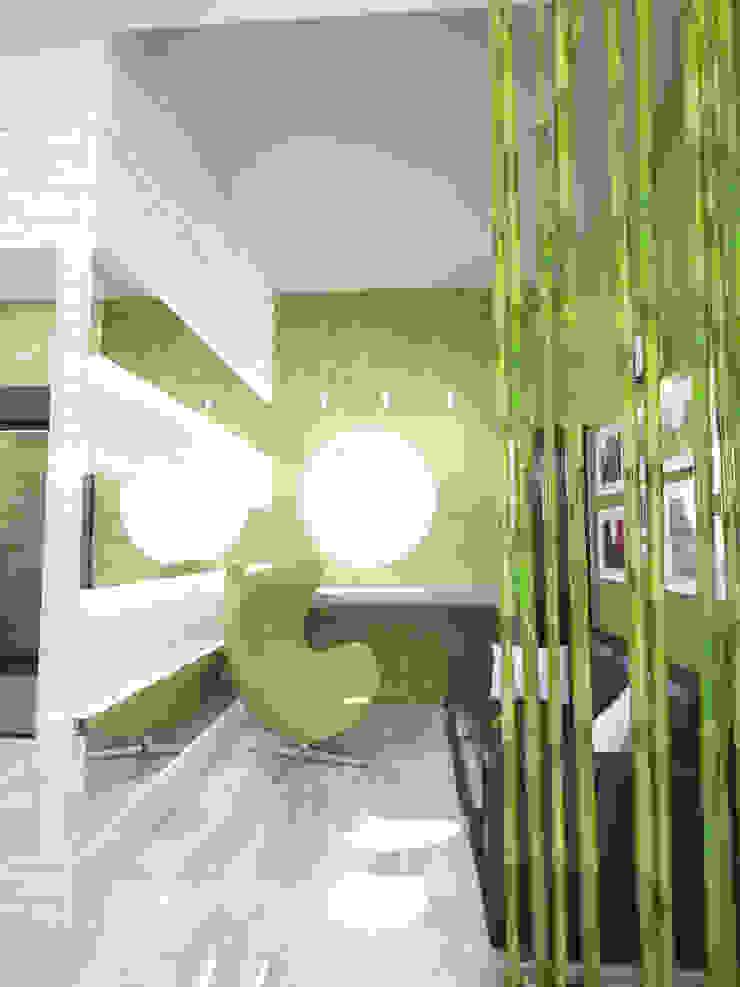 Коридор Коридор, прихожая и лестница в стиле минимализм от mysoul Минимализм