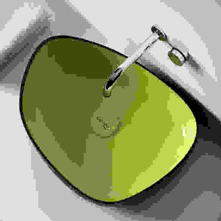 Il bagno di Olympia ceramica ,Metamorfosi, design Gianluca Paludi Bagno minimalista di olympiaceramica srl unipersonale Minimalista