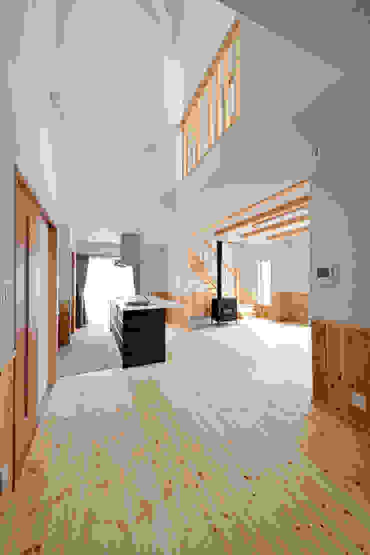 神石高原の家 オリジナルデザインの ダイニング の ATELIER IDEA オリジナル