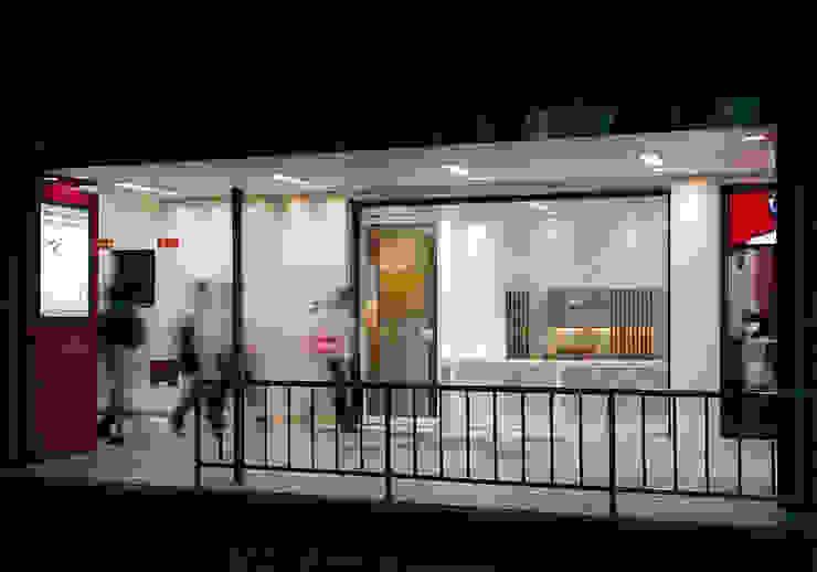 道路側外観 オリジナルなレストラン の 堀内総合計画事務所 オリジナル