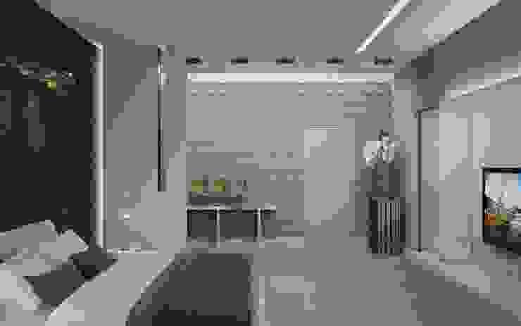Квартира в Москве Спальня в стиле минимализм от Дизайн - студия Пейковых Минимализм