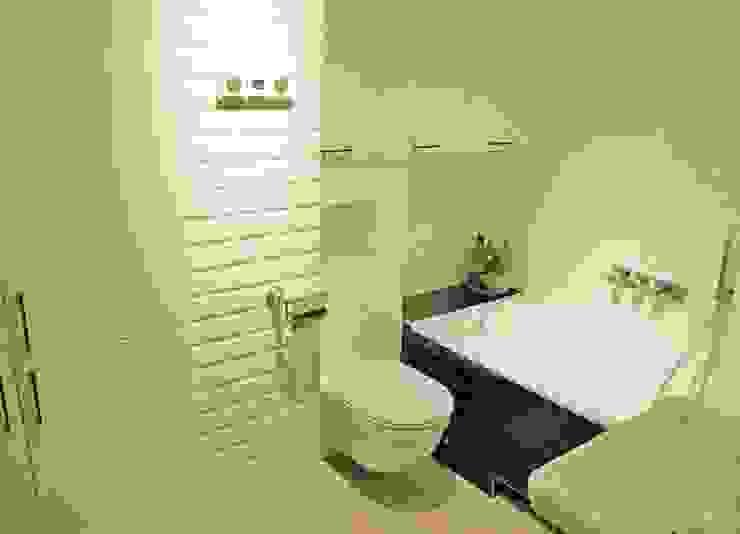 Mieszkanie w stylu klasycznym Klasyczna łazienka od Limonki Studio Wojciech Siudowski Klasyczny