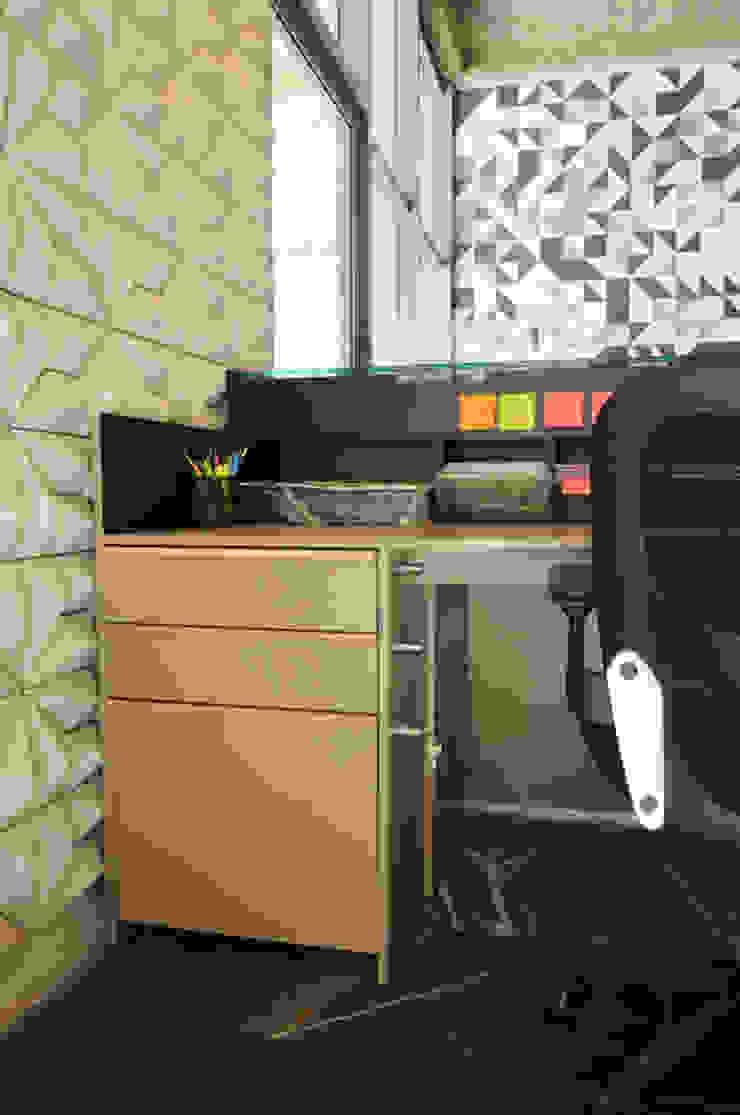 Mueble de recepción de Mediamadera Moderno