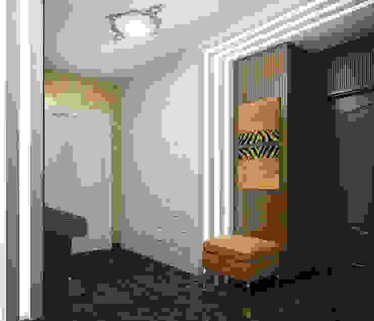 Квартира в Ялте Коридор, прихожая и лестница в эклектичном стиле от Дизайн - студия Пейковых Эклектичный