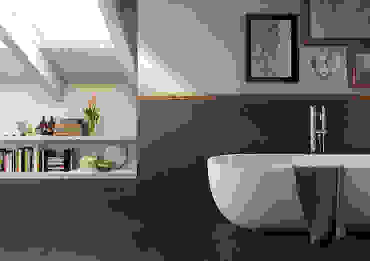 Baños de estilo moderno de MHP media | 3D Rendering Moderno