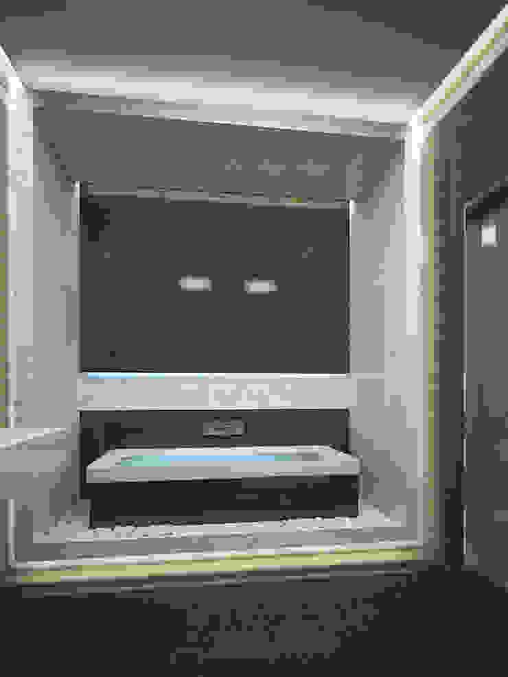 Квартира в Праге Ванная комната в стиле минимализм от Дизайн - студия Пейковых Минимализм