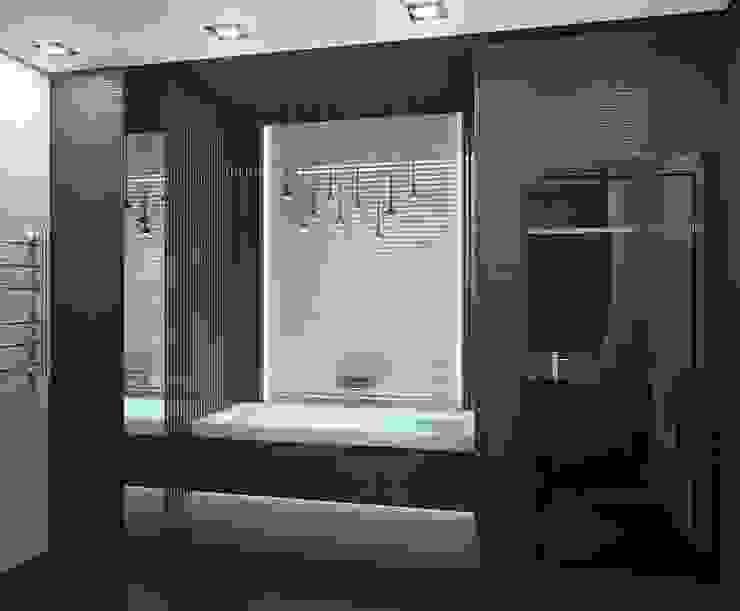 Квартира в Москве Ванная комната в стиле минимализм от Дизайн - студия Пейковых Минимализм