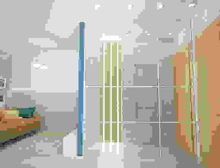 Кваритра-студия Коридор, прихожая и лестница в стиле минимализм от mysoul Минимализм