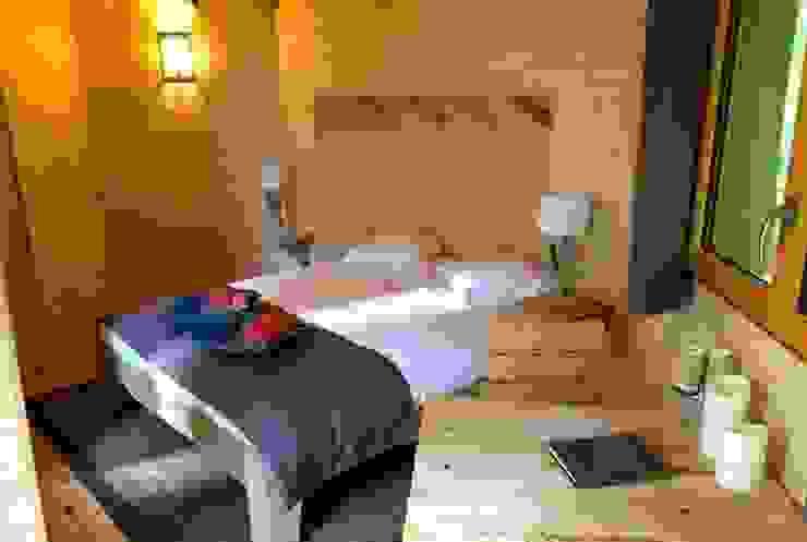 Interieur van boomhut bij Les Grands Chenes nabij Parijs Rustieke hotels van TreeGo Boomhut Bouwers Rustiek & Brocante