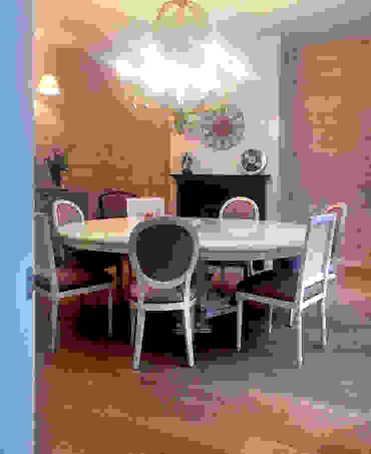 Фото готового интерьера столовой Столовая комната в классическом стиле от Дизайн студия Ольги Кондратовой Классический