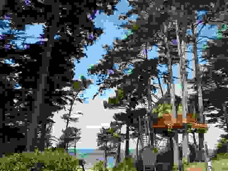 Met je gezin in een boomhut slapen op camping Les Chevrets:  Hotels door TreeGo Boomhut Bouwers,